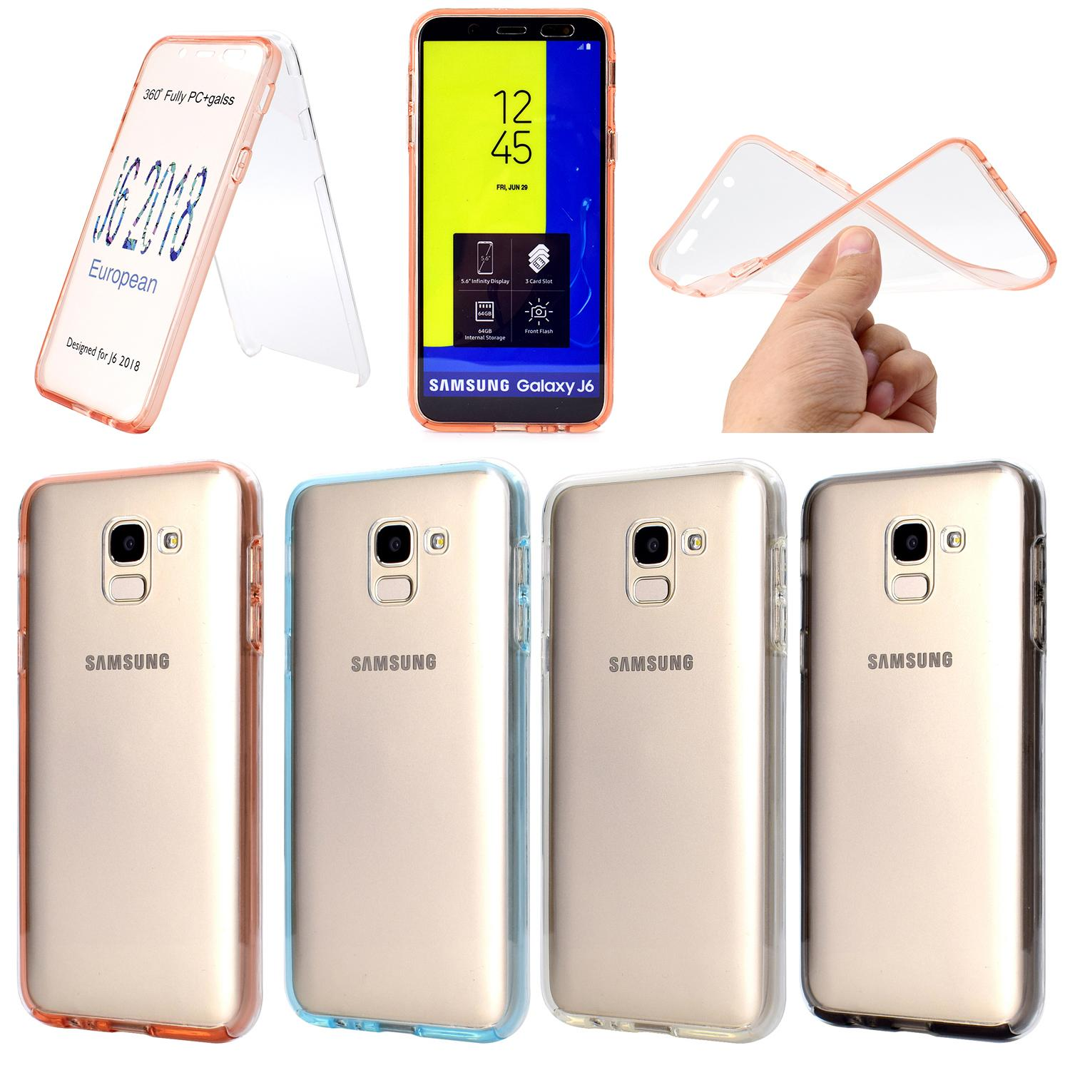 huge selection of 61e99 aee02 Full Body Front and Back Protective 360 Case For Samsung Galaxy S10 Plus  S10e Note 9 8 S8 S9 A6 A8 2018