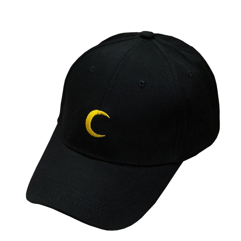2018 Hot Sailor Moon Crescent Dad Hat Embroidered Baseball Caps ... a2b4048cdd8b
