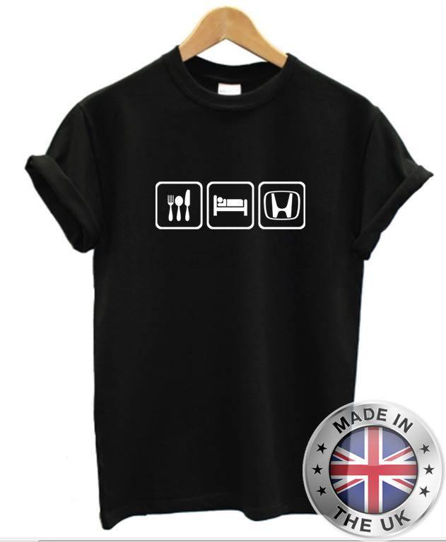 2ea65c141b Eat Sleep HONDA T Shirt Mens Womens Car JDM Racing Tee Shirts Mens T Shirts  From Sonyoasis, $11.01| DHgate.Com