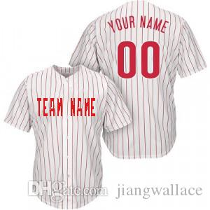 new style 74341 1f4eb Custom personalized Jersey Philadelphia baseball jersey Embroidered letters  number (all name number stitched)