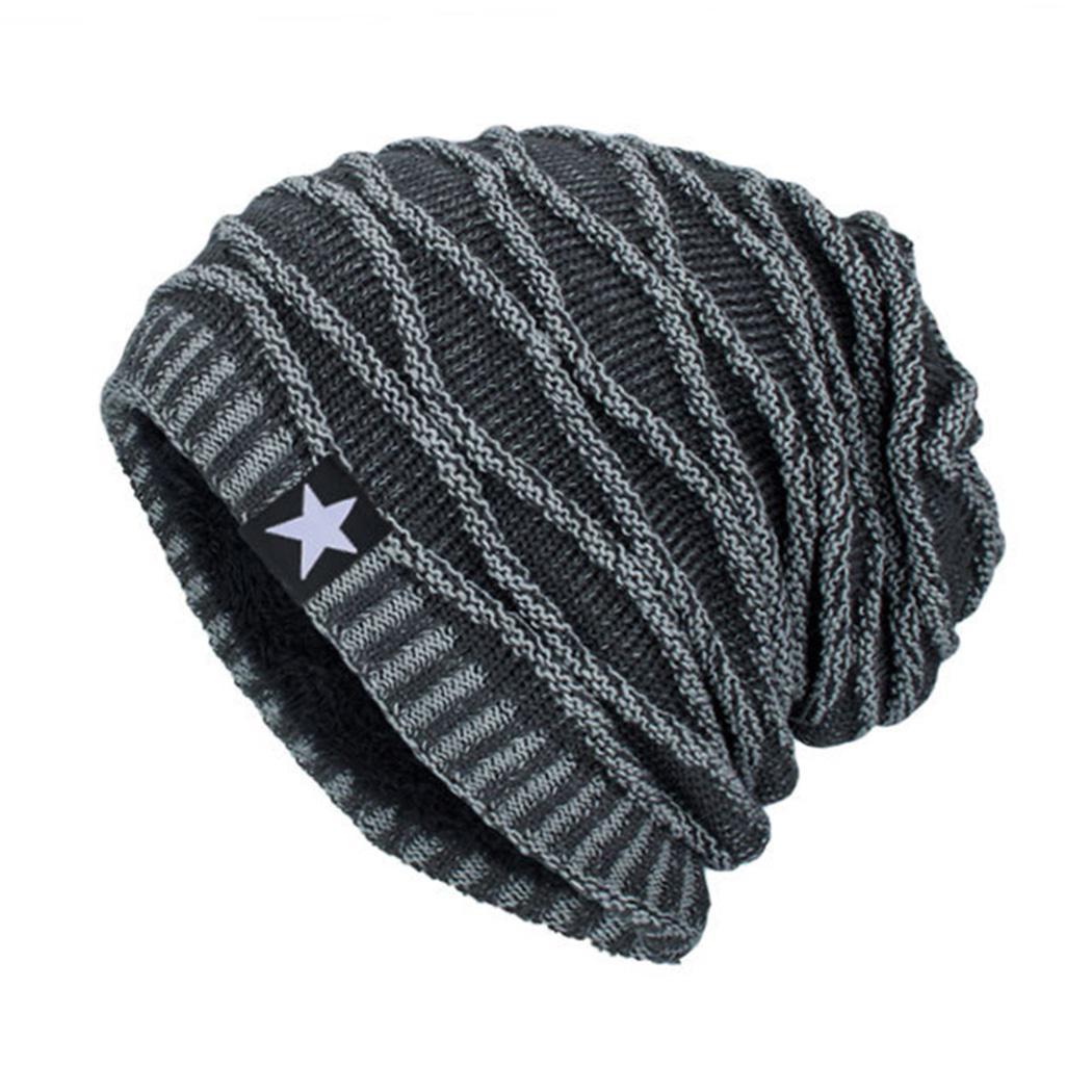2018 Winter Bonnet Gorros Caps Beanies Hat Unisex Warm Knitted Skull Knitting  Cap Thick Hats Star Caps Men Skullies Women Q4 Skullies Women Mens Skullies  ... 526bdb5c94c1