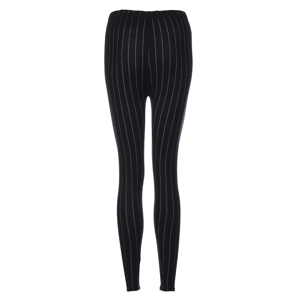 39aa1aa5e23b1 2019 Jogging Femme Taille Haute Push Up Striped Cropped Leggings 2018 YL  From Jaokui,  37.59   DHgate.Com
