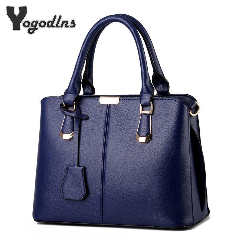af911a7eeac6 Women Luxury Handbags New Stylish Female Shoulder Bags Sac A Main Bolsos  2018 New Ladies Pu Leather Messenger Bags Casual Totes White Handbags  Wholesale ...