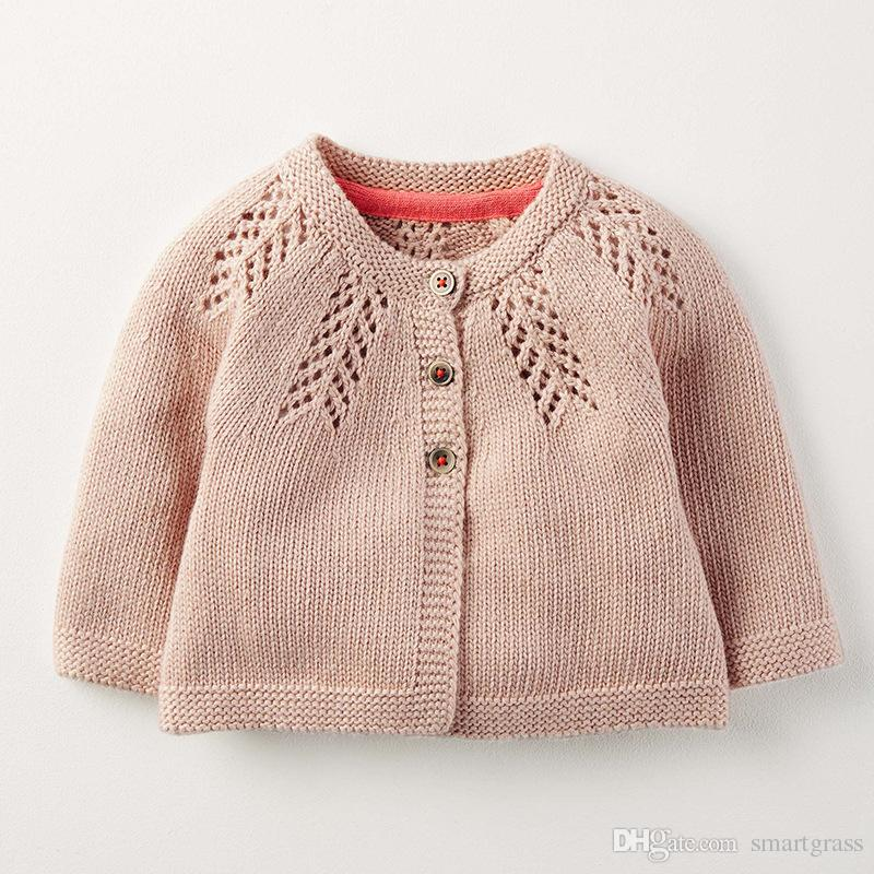 c04e9395bb77 Kniting Baby Cardigan Sweater Fashion Hollow Out Design Baby Clothes ...