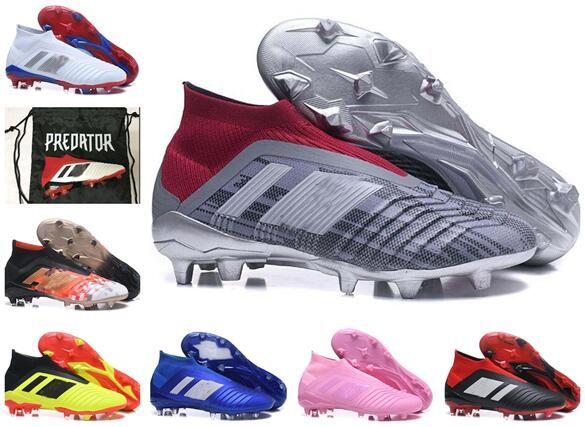 2019 Mens Kids WORLD CUP Soccer Shoes Predator 18 X Pogba FG ... 6397b6174fea5