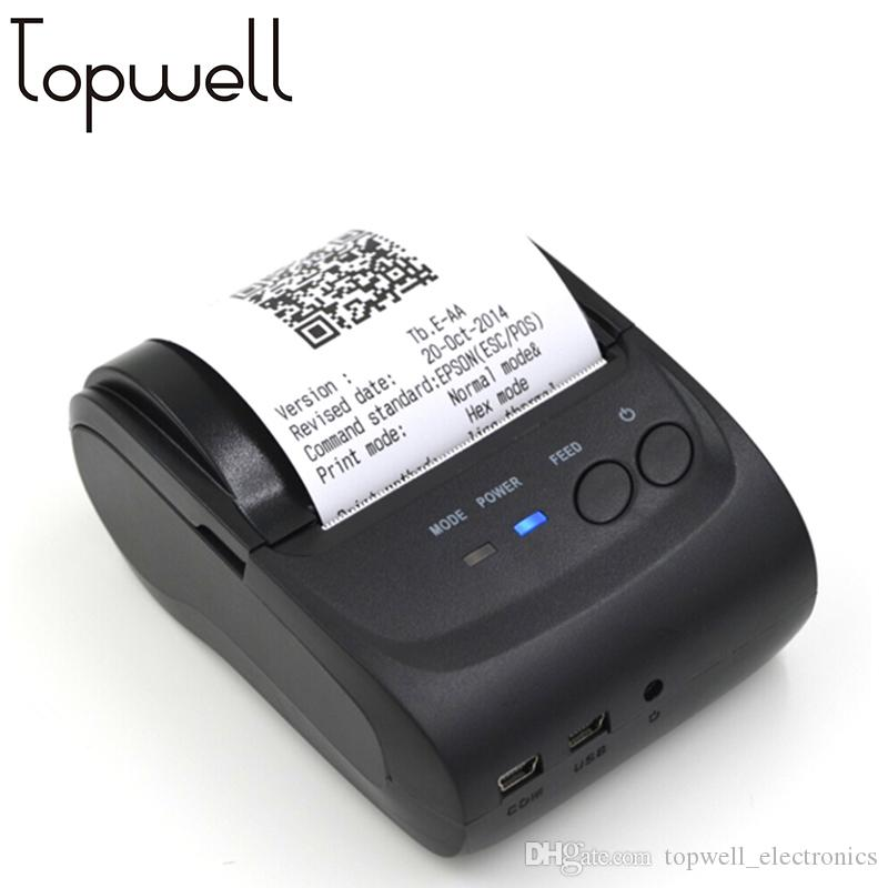 POS58 Mini Thermal Printer Driver Download Wireless Connection For