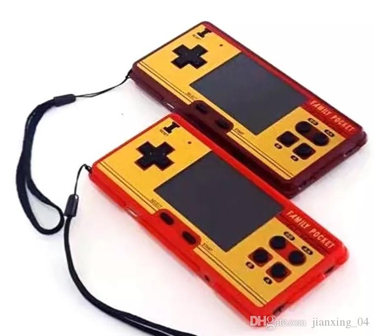 Family Pocket retro TV video game Console handheld game console 2.6 inch screen tv game player With Retail Box