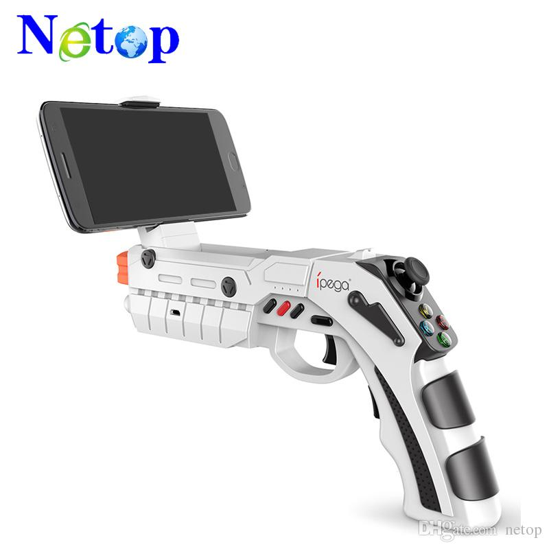 Netop PG-9082 PG9082 Bluetooth Shooting AR Gun Game Magic Gun Game  Controller Gamepad Joystick for Android iOS Phone PC AR