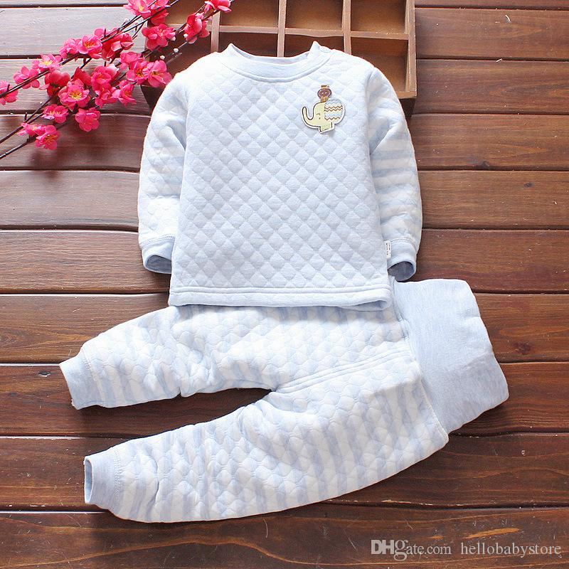 Wholesale Baby Pajamas Clothing Sets Newborn Baby Girls Boys 100 ... da33608e5