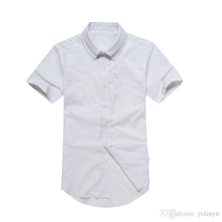 Commerce China Medusa shirt casual short sleeve pure cotton 100% shirt quality good cheap design chest has a pony polo S-2XL