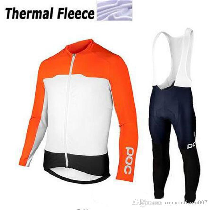 998993498 2018 Pro Team Cycling Winter Thermal Fleece Jersey Bib Pants Sets Men Mtb  Bicycle Wear Set Ropa Ciclismo Hombre Bike Long Sleeves Maillot Motorbike  Clothing ...