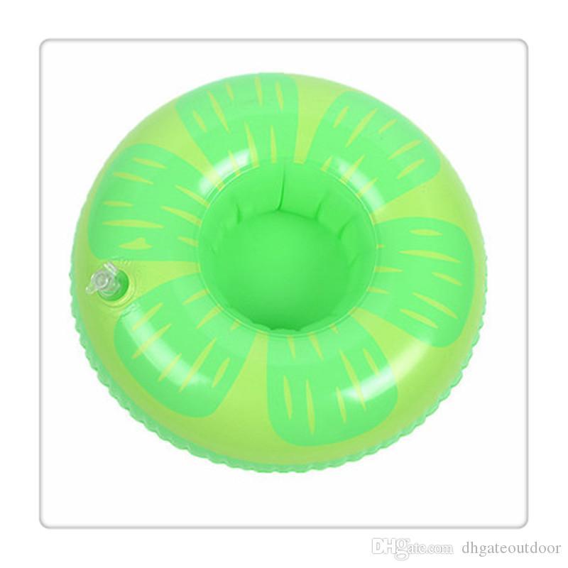 Ciambella galleggiante piscina giocattoli titolare di bevande galleggianti ananas anguria galleggiante titolari di una tazza gonfiabile le decorazioni festa in piscina giocattoli da piscina