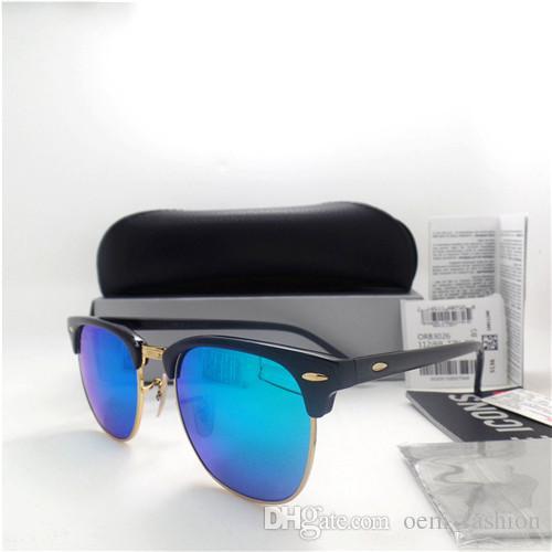 a565286af1f 2018 Hot Sunglass Lens Brand Designer Fashion Men Women Plank Frame Coating  Sunglasses UV400 Sport Vintage Sun Glasses With Box   Case Driving  Sunglasses ...
