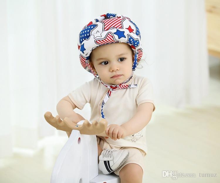قبعة تحطم الطفل ، طفل رضيع القطن ، خوذات السلامة واقية من انخفاض ، نماذج فور سيزونز
