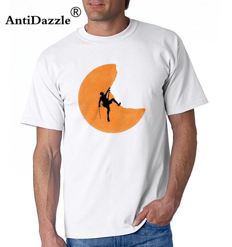 Großhandel Antidazzle Fashion Hot Für Große Und Große Männer Rock T Shirt  Bergsteiger Sonnenuntergang Adrenaline Addict Väter Tag Geschenk Clim  Bmetal T ... 27b21f3dd9