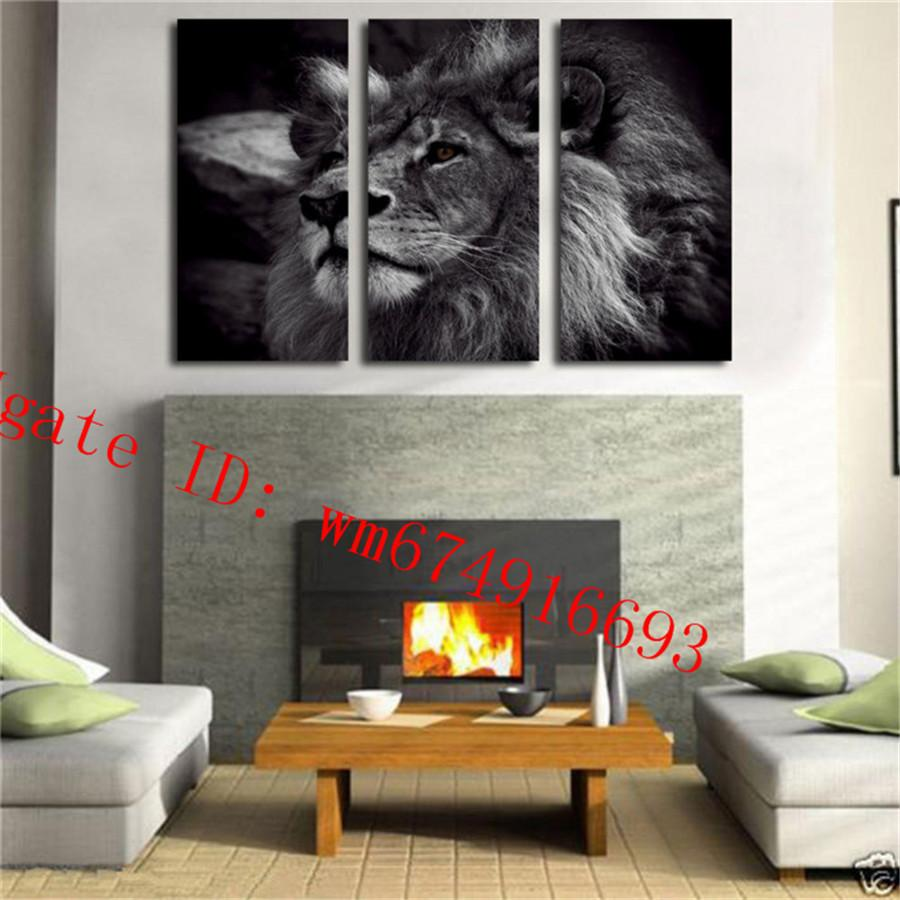 2018 Black And White Lion King , Home Decor Hd Printed Modern Art Painting  On Canvas Unframed/Framed From Wm674916693, $17.09 | Dhgate.Com