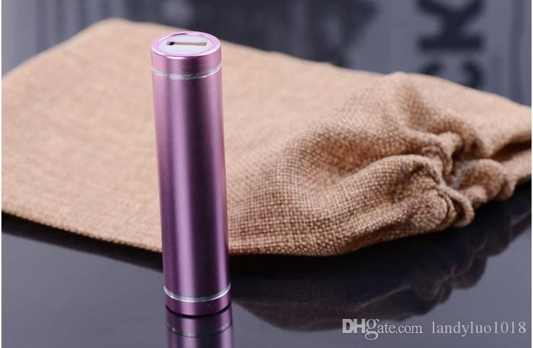 Wholesale - Best USB Power Bank 2018 External portable 2600mAh Battery Cheap Charger For S3 S4 5C 5S
