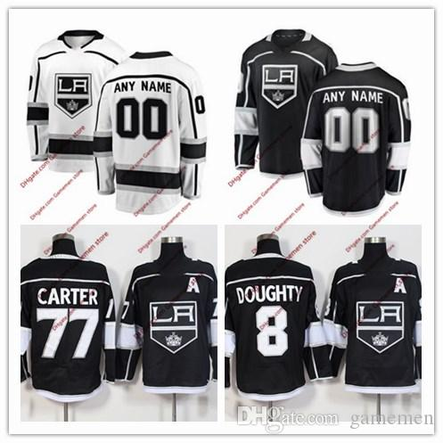2018 Custom 2018 La Los Angeles Kings Ice Hockey Jerseys Mens