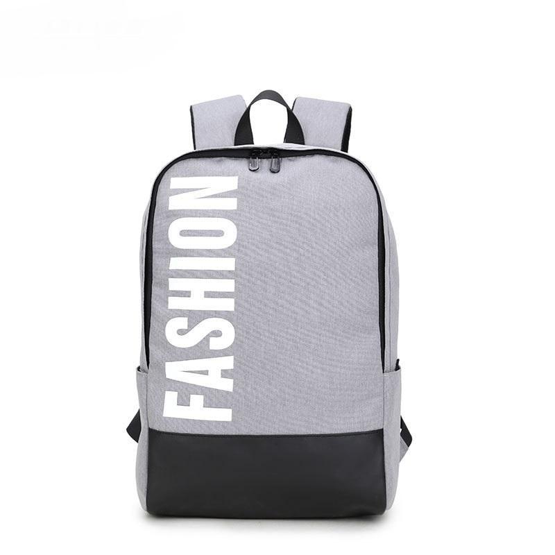 cafebd730d Korean Version of Nylon Backpack Large Capacity Waterproof Computer ...
