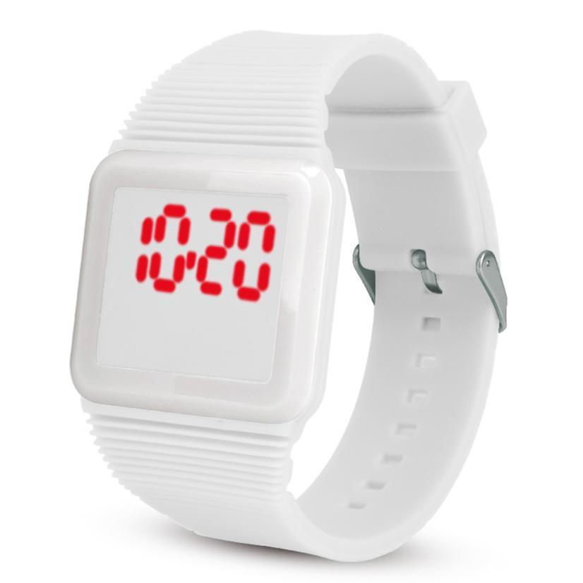 d4a74e19 Купить Оптом Новые Детские Часы Наружные Силиконовые Цветные Спортивные Часы  Детские Кварцевые Часы Светодиодные Светодиодные Электронные Часы #F ...