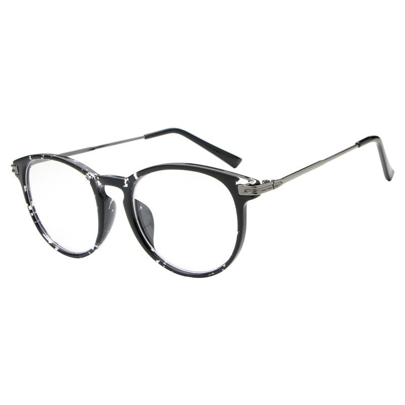 3609c4254b831 2019 Reading Glasses Retro Unisex Oculos Para Maquiagem Metal Points Womens  Glasses Frame UV Protection Female Eyeglasses Oculos From Haydena