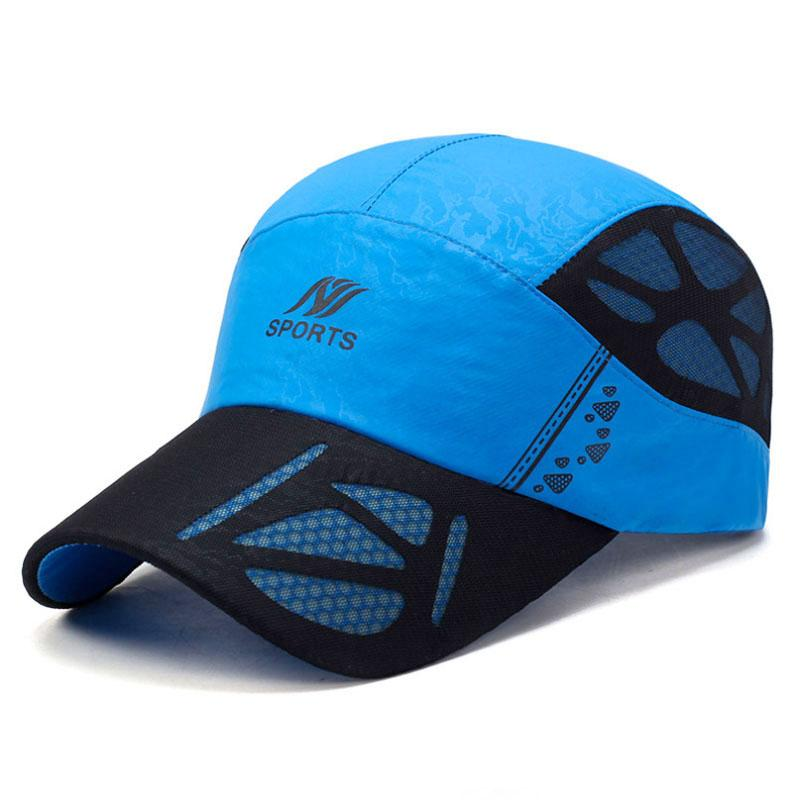 Wholesale Summer Baseball Cap Men Breathable Quick-Drying Mesh Hats ... 4ad72ee8926f