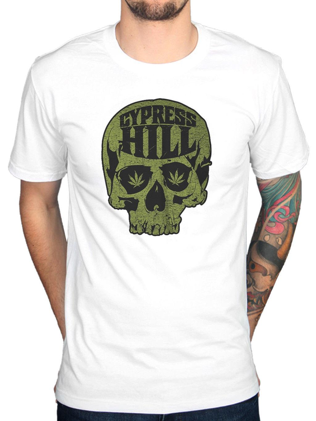 fa85651be2f79 Official Cypress Hill Skull Logo T Shirt Skull And Bones Black Sunday Rise  Up Cheap T Shirts For Sale Online One Day Only T Shirts From Thgraphics
