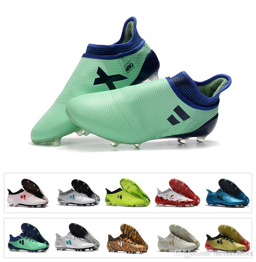 2019 Hot Ace X17+X 17+ Purecontrol Purechaos X 17.1 Boots FG Cleats Soccer  Football Shoes Messi De Mens Cleats Low Ankle Original Chuteira From  Themaxshoes e785fe87eb237