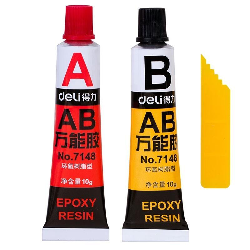 a85d290c32 2016 AB glue A B epoxy glue total 20g metal rubber universal glue resin  super metal PVC ABS ceramic tile free shipping