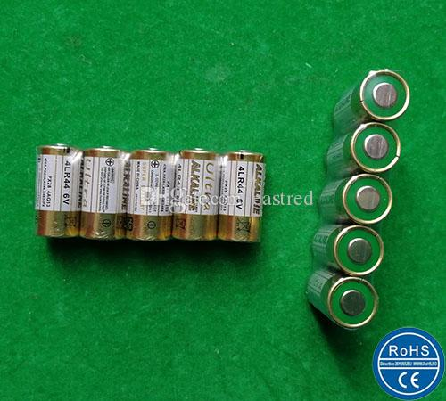 / 6V 4LR44 Batterie 4AG13 4A76 L1325 Alkalibatterien für Hundezaun Antibark Controller