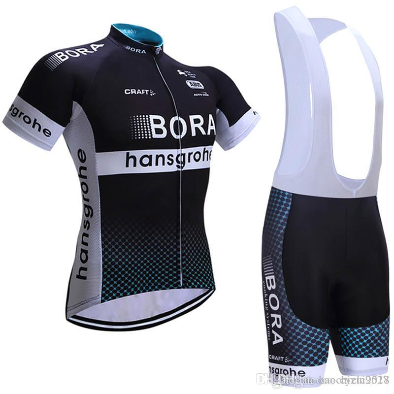 BORA 2018 Cycling Jersey Set Men Summer Quick Dry Cycling Clothing ... e54fc06d7