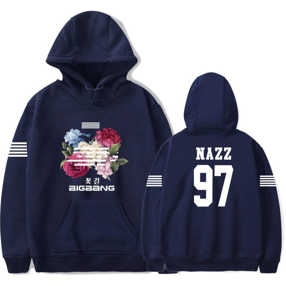 K Bts Pop Acheter À Route De Fleurs Corée Sweats Capuche Bigbang j4AL3R5
