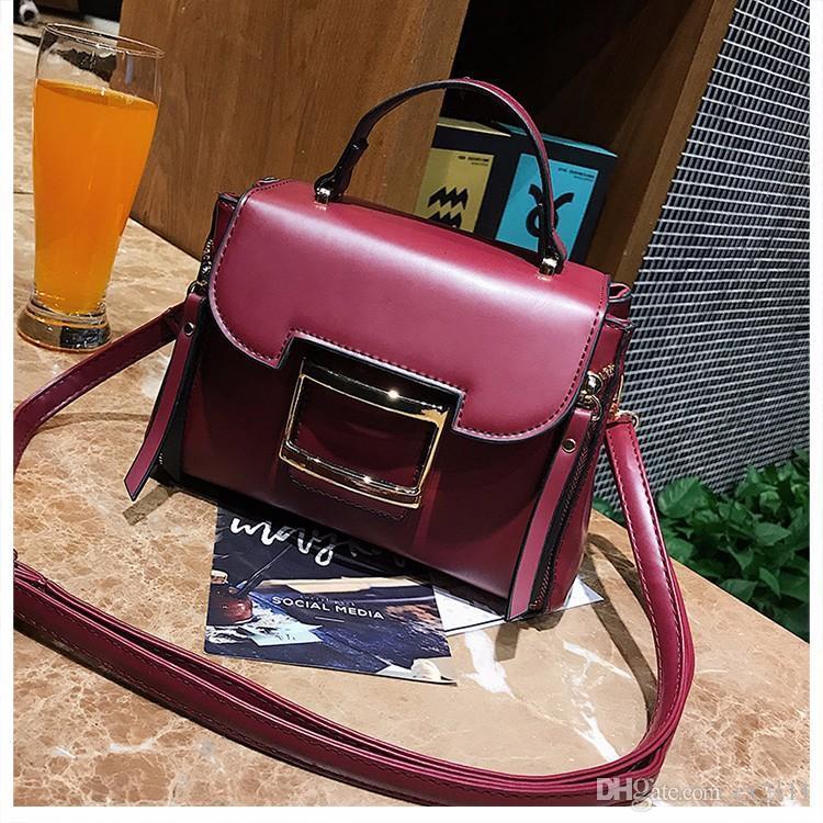 f484df06cb 2018 Women Color Leather Men S Bags Men Briefcase Crossbody Bags Messenger  Bag Men S Shoulder Bag Genuine Leather Skin Naturally Fashion Bags Designer  ...