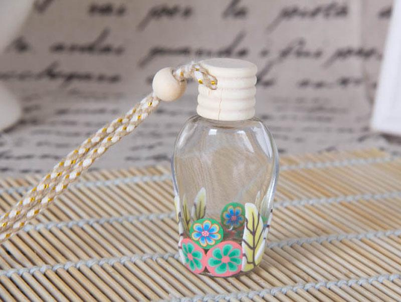 La plupart des suspensions populaires / en verre des bouteilles de parfum en verre des flacons d'argile polymère pour la bouteille de parfum aux huiles essentielles