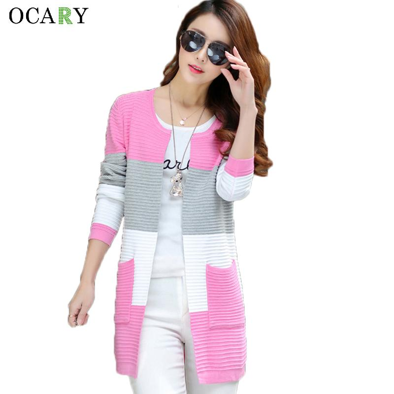 2019 Elegant Women Sweaters Spring Summer Thin Cardigans Knitted Long Cardigan  Cotton Haut Femme Ete Blusas Gilet Size XL L18100704 From Tai002 8ccef04da