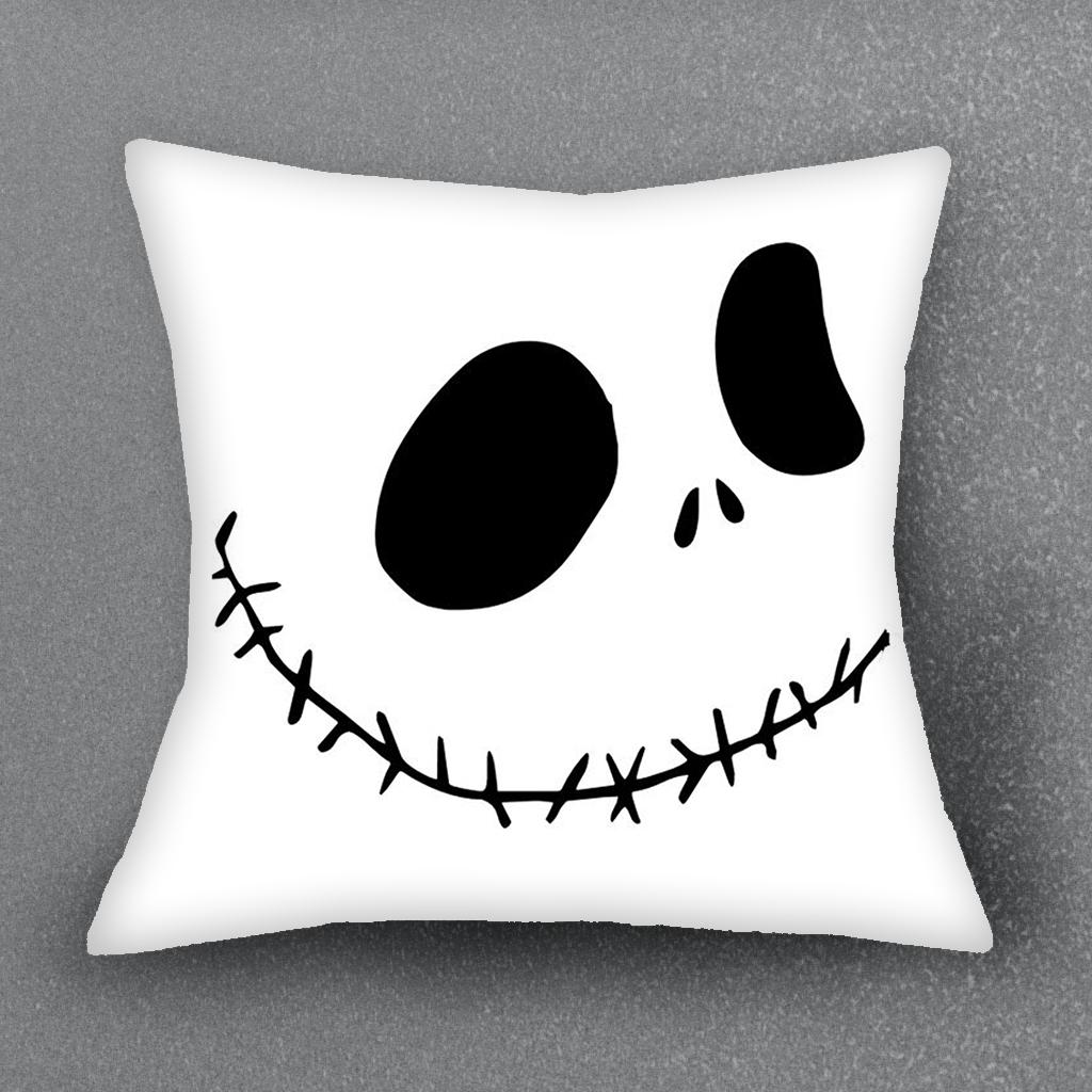 The Nightmare Before Christmas Cushion Cover Pillow Case For Sofa