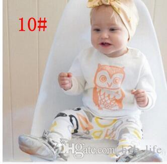 Baby Kleidung Ins Anzüge Jungen Sommer T Shirts Hosen Brief Drucken Tops Hosen Mädchen Mode Freizeithemden Hosen Langarm Outfits KKA2140