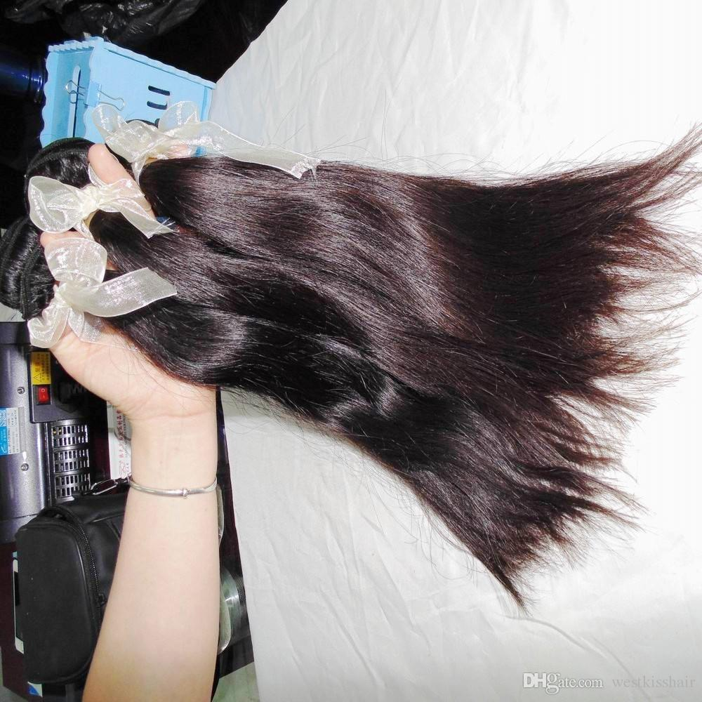 3 bundles mix lengths ONLY 8A virgin hair Filipino natural silky straight weave bundles Long term business forever