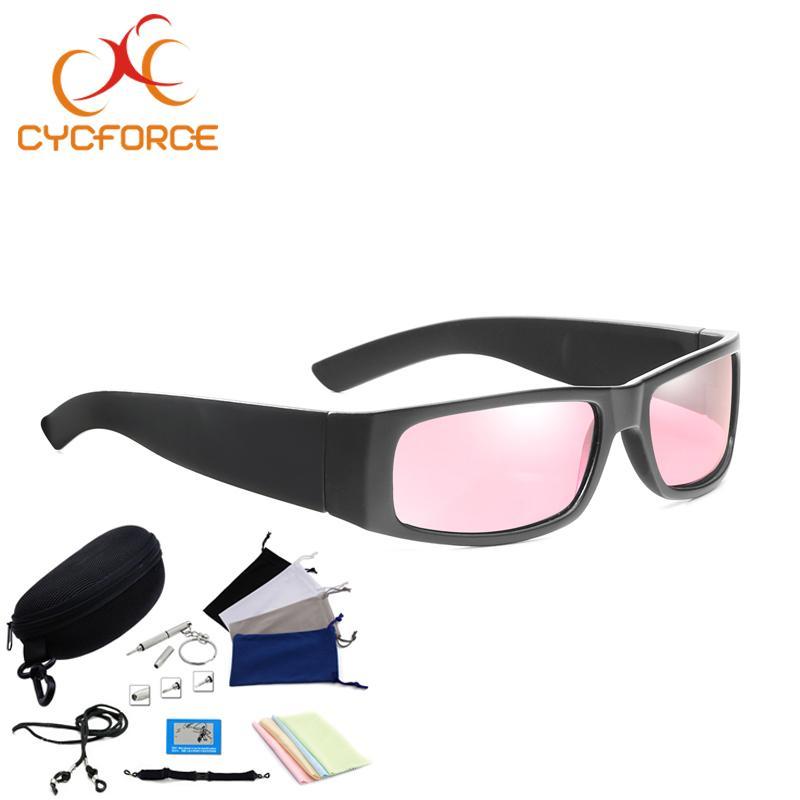 c8038d48bb92 CYCFORCE Polarized Bicycle Eyewear Outdoor Sports Cycling Sunglasses ...