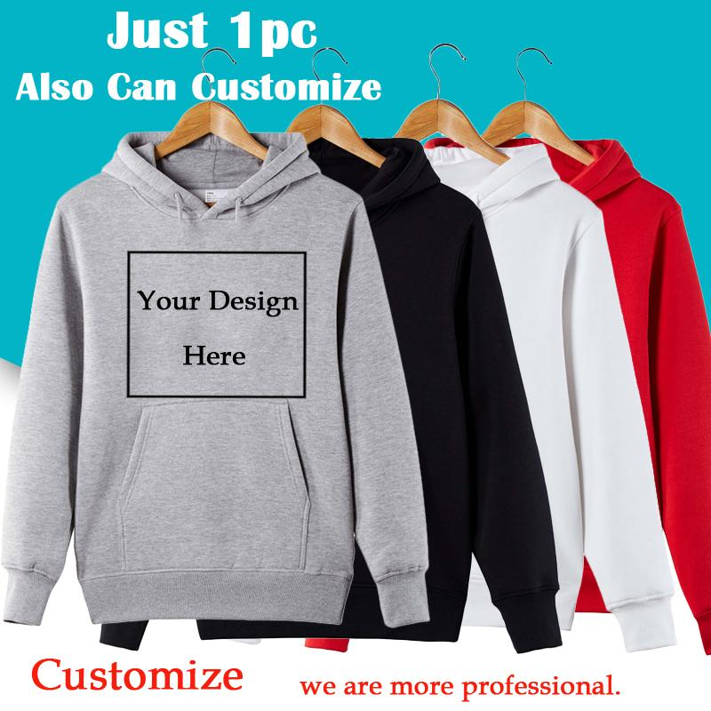 Men Women Customize Hoodie Custom Logo Personalized Hoodie Customized Print  Text Send Out Within 3 Days UK 2019 From Octavi b37d20ad3318
