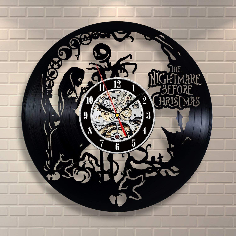 Diy Gift For Clock Change 2018 Nightmare Before Christmas Vinyl ...