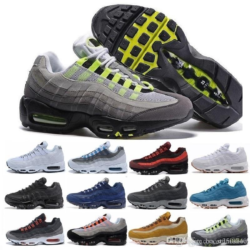 reputable site a68b3 bbb15 ... low cost compre nike air max vapormax 2018 nuevos air hombres zapatos  casuales 95 oro negro