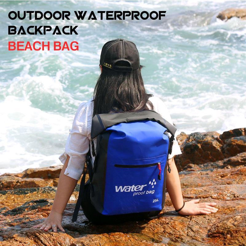 99b9f697d99a4 Satın Al 25L Büyük Kapasiteli Açık Dalış Çanta Yüksek Su Geçirmez Sırt  Çantası Plaj Çantası Kova Dalış Sürüklenen Yüzme Kamp Açık, $32.74 |  DHgate.Com'da
