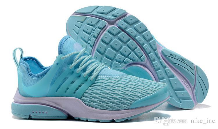 2018 New Air PRESTO BR QS Breathe Yellow Black White Running Shoes Cheap prestos 5 Women Men Sports run trainer designer Casual Sneakers