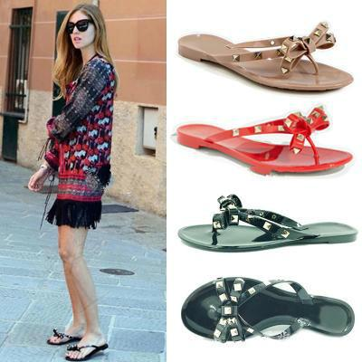 2017 women flip flops woman jelly sandals rivet summer beach shoes sapatos femininos zapatos mujer chaussure femme sapato feminino sandalias pay with paypal online glaxVFvQ3