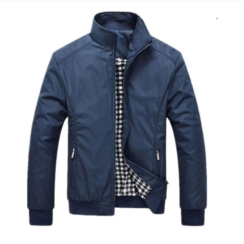Men's Jackets 2018 Men's New Casual Jacket High Quality Spring Autumn Regular Slim Jacket Coat For Male Wholesale Fashion Brand