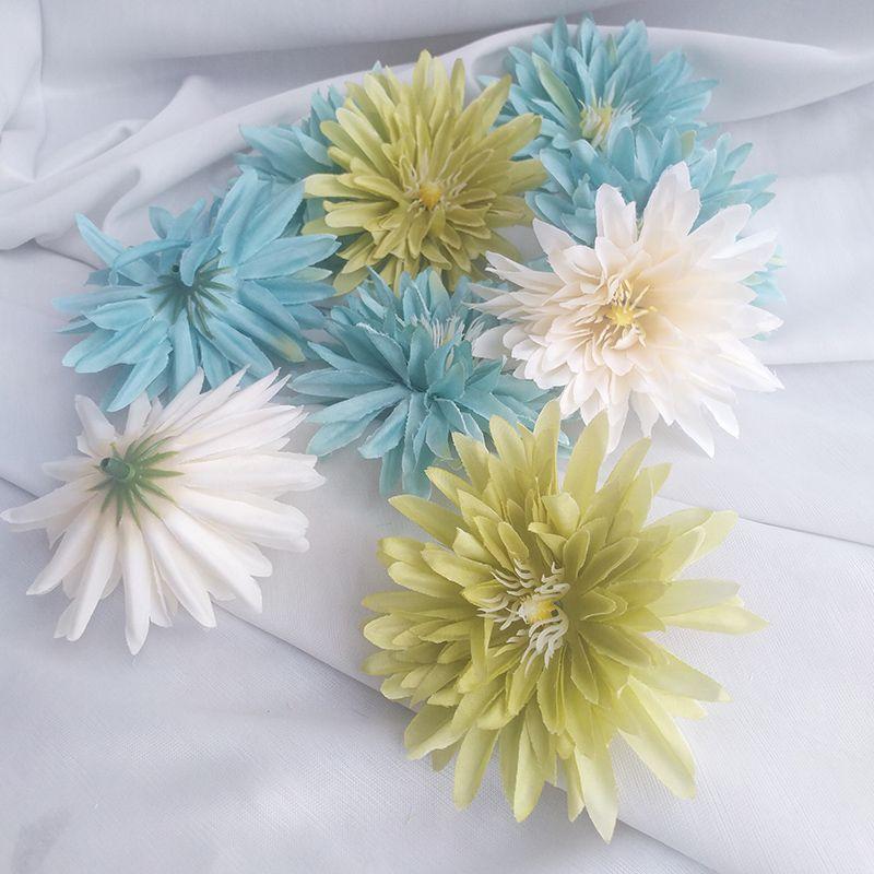 2019 Gerbera Artificial Flower Head Silk Daisy Home Wedding Car