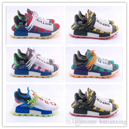 f0e036b85 Pharrell Williams Tennis Solarhu NMD Shoes Hu V2 Human Race Sports ...