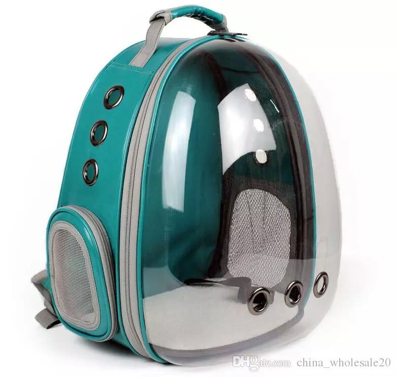 25960de0f9 2019 Space Transparent Capsule Shaped Pet Carrier Breathable Multifunction  Backpack For Cat Outside Travel Portable Dog Carry 050 From  Chinese wholesale01