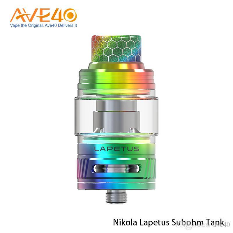 Réservoir Nikola Lapetus Subohm 6ml avec bobine de Lapetus 0.18ohm